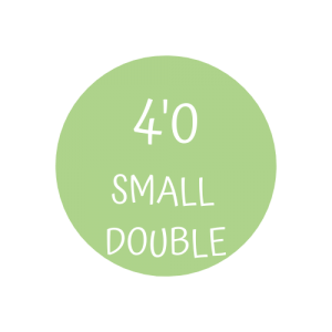 4' Small Double