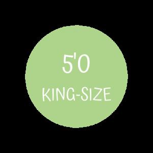 5' King